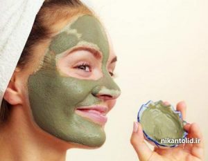ماسک بنتونیت, طرز تهیه ماسک بنتونیت, ماسک صورت, چگونه ماسک خاک رس درست کنیم,