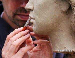 پودر سنگ مجسمه سازی, آموزش مجسمه سازی با پودر سنگ